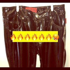 Black latex pants 🖤